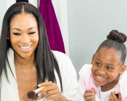 mimi faust hairstyles a sneak peek into mimi faust and her daughter s mommy and me shoot