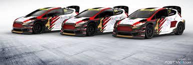Ford Racing Flag Mjp Racing Team Austria Präsentiert Renndesigns Für Die Fia