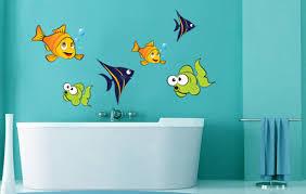 wandtattoos badezimmer wandtattoo badezimmer fische set 1 70 x 47cm nein 174731