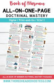 book of mormon doctrinal mastery all on one page pdf download