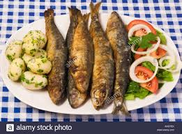 portugal cuisine grilled sardines portugal food stock photo 14437530 alamy