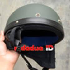 Helm Catok jual helm catok impor warna hijau doff rodadua net