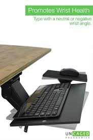 Computer Desk Without Keyboard Tray Kt1 Adjustable Underdesk Ergonomic Keyboard Tray Drawer Stand Easy