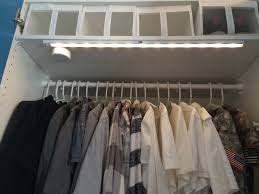 stötta led light strip battery operated white pax wardrobe