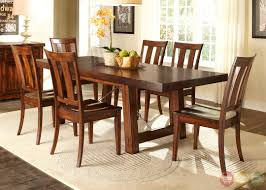 mahogany dining room set tahoe rustic style mahogany finish dining room set tahoe rustic style mahogany finish dining room set