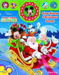 mickey mouse clubhouse sing along christmas songs editors of