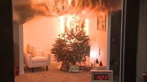 christmas tree lights fire christmas lights decoration