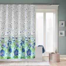 Purple Bathroom Curtains Bathroom Interior Valance Purple Shower Curtain And Green