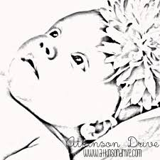 baby coloring baby boy coloring pages printable baby