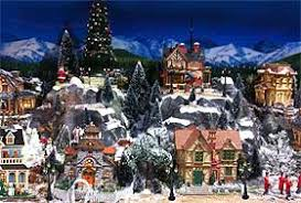 lemax christmas winter christmas villages history and displaying christmas