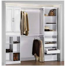 Shelving For Closets by Freestanding Wood Closet Systems Wood Closet Organizers The