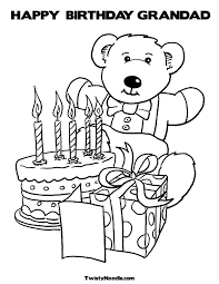 inspirational happy birthday grandpa coloring pages 74