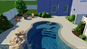 Backyard Leisure Pools by Sherwood Lakes Eclipse By East Coast Leisure In Virginia Beach