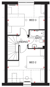 taylor wimpey floor plans greenwood at wookey hole road wells ba5 3 bedroom semi detached
