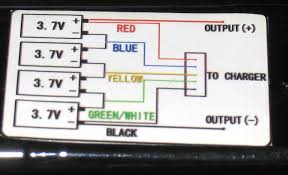 need wiring diagram output pins apache 505 smart charger