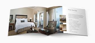 hotel brochure design graphic design website design luxury