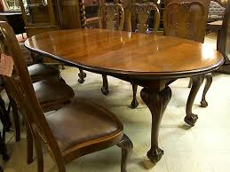 Chippendale Dining Room Chairs 3600 90 English Mahogany Chippendale Dining Table