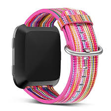 bracelet bands ebay images Fitbit versa leather bands genuine colorful strap replacement jpg