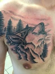 black and gray wolf done by yours truly heritage