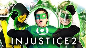 green lantern plays injustice 2 arcade ending w scorpion