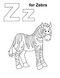 zebra 116 animals u2013 printable coloring pages