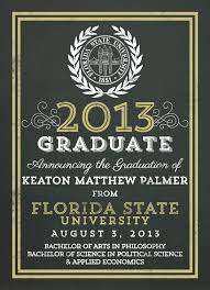 college graduation invitations themes formal college graduation announcement template in