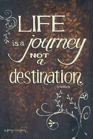 quote journey home life is a journey not a destination by ralph waldo emerson