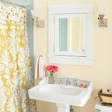 interior mesmerizing grey yellow and white bathroom decoration