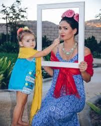 Mommy Halloween Costumes Mommy Toddler Costume Frida Kahlo Love Blog