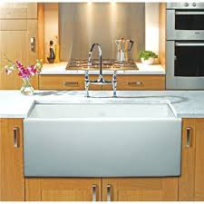 farm sink kitchen cabinets country with drainboard faucet