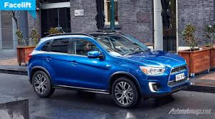 asx mitsubishi 2015 the mitsubishi asx facelift launched in australia autonetmagz