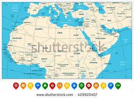 detailed map of usa and canada usa canada large detailed political map stock vector 482383207