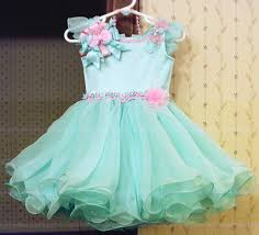 babydoll pageant dresses for toddlers aqua glitz crowning dress