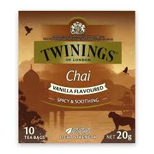 twinings chai vanilla tea bags 10 pack the marulan general store