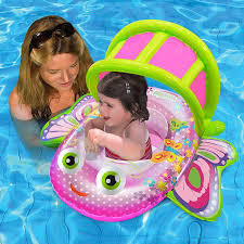 Swimways Baby Spring Float Sun Canopy Blue by Amazon Com Aqua Leisure Bouncing Butterfly Baby Boat Toys