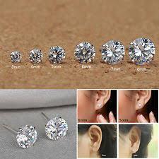stud earrings for women 925 silver cz earrings ebay
