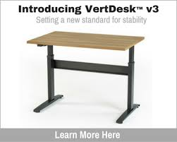 student benefits from use of standing desk in classroom