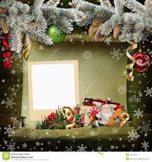 Christmas Tree Picture Frames Christmas Background With Frame And Beautiful Christmas