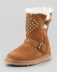 ugg sale daniel lyst ugg studded boot chestnut in brown
