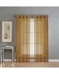 Sheer Elegance Curtains Winter Bargains On Window Elements Sheer Sheer Elegance 84 In