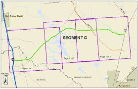 harris county toll road map segment g