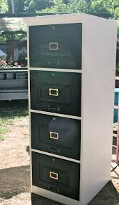 Wood Locking File Cabinet by Cabinet Funky Filing Cabinet With Custom Painted Vintage Ideas