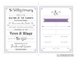 wedding programs trifold wedding ideas remarkable order ofing reception program photo