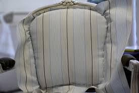 How To Reupholster A Side Chair Lilyfield Life Easy Upholstering Of A French Louis Chair