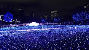 purple christmas lights christmas lights in japan accessible japan アクセシブルジャパン
