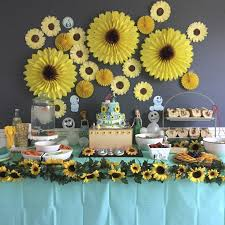 Sunflower Decorations Strawberry Swing And Other Things Crafty Lady Coffee Filter Flowers