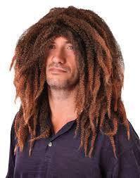 male rasta hairstyle brown rasta dreadlock dreadlocks wig surf hippie hippy fancy dress