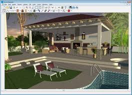 home design software back deck with outdoor kitchen home design and landscape