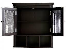 Sauder Homeplus Storage Cabinet Black Storage Cabinets With Doors Homeplus Cabinet 411572 Sauder