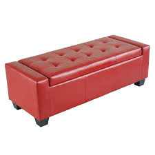 best selling guernsey black leather storage ottoman pics with